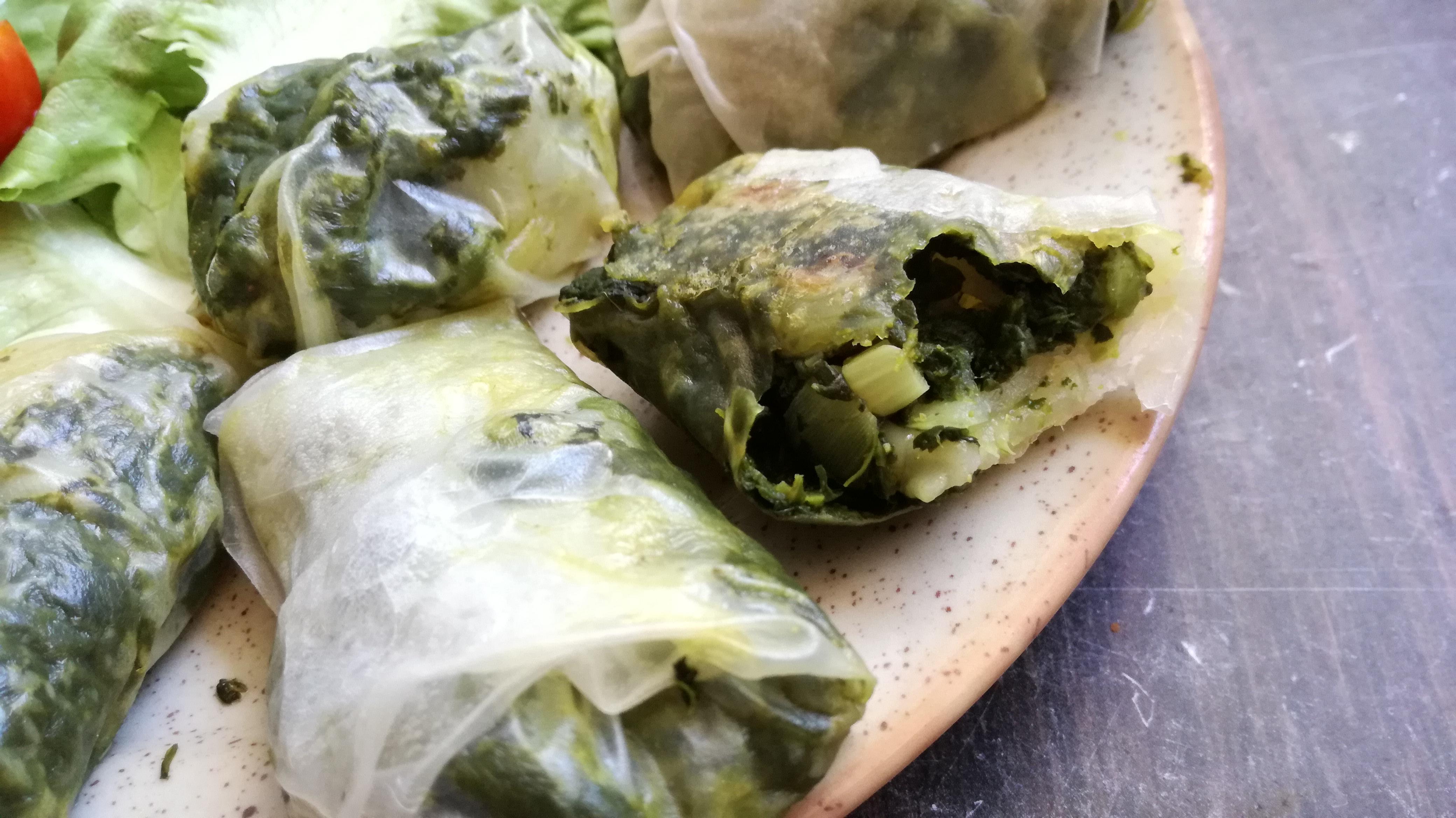 zoom nems verts aux épinards vegan et sans gluten médical médium compatible
