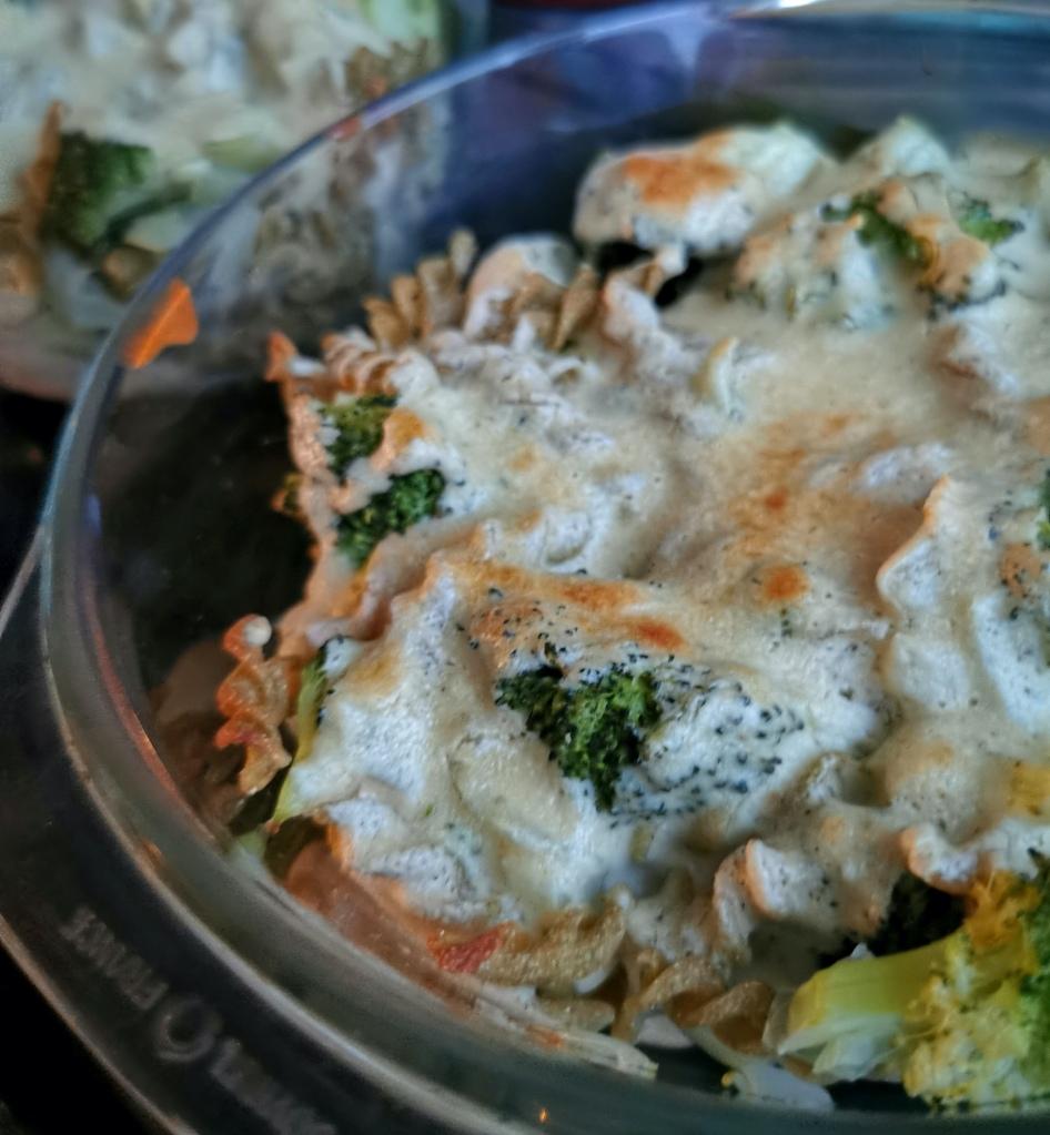 zoom pâte à la crème de cajou et au brocoli vegan et sans gluten médical médium compatible