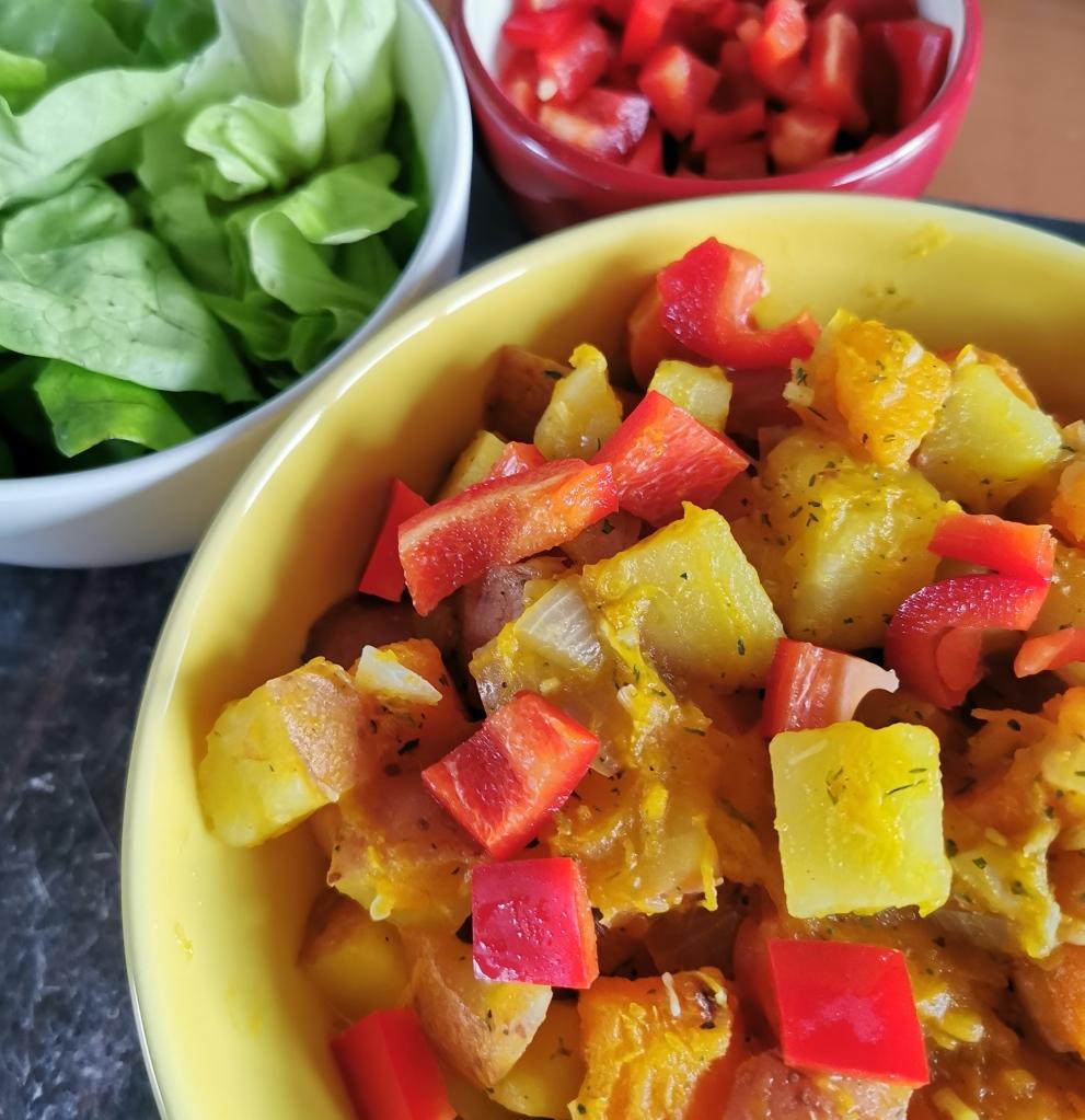 zoom curry potiron noix de coco vegan et sans gluten médical médium compatible