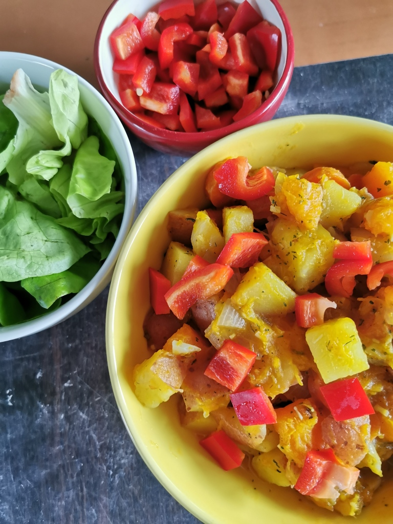 curry potiron noix de coco vegan et sans gluten médical médium compatible