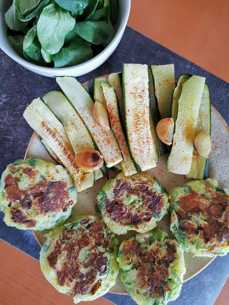 galette de pommes de terre aux cébettes vegan et sans gluten médical médium compatible