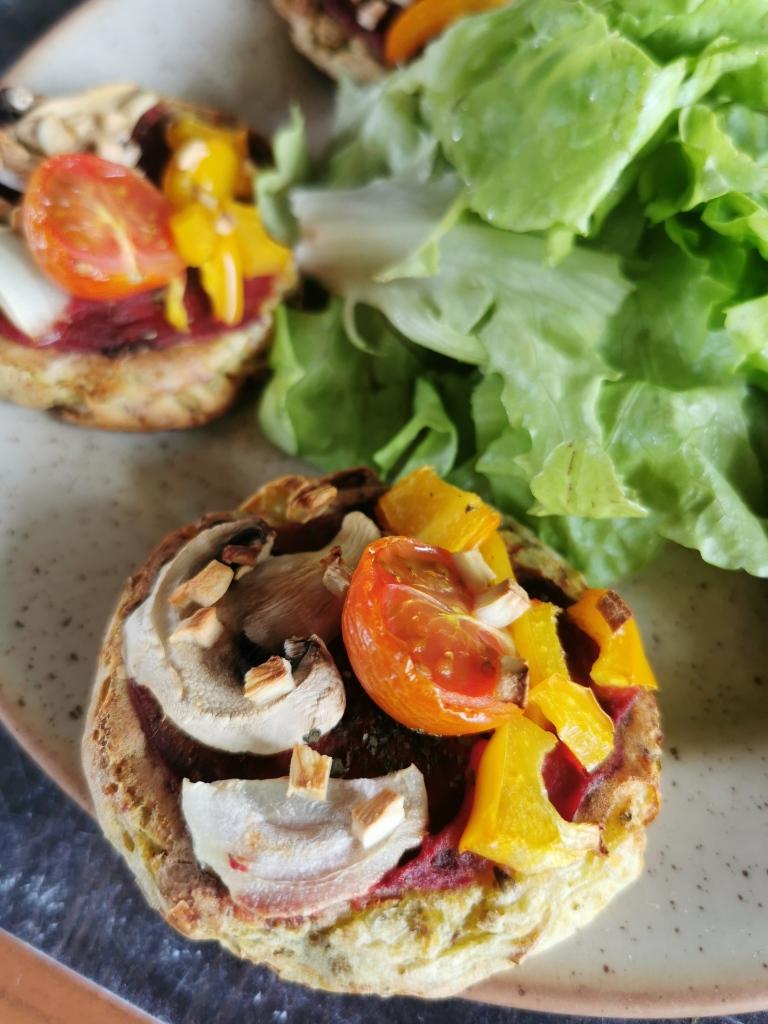 zoom mini pizza à la pomme de terre vegan et sans gluten médical médium compatible