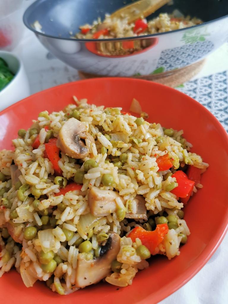 zoom riz frit thai vegan et sans gluten médical médium compatible