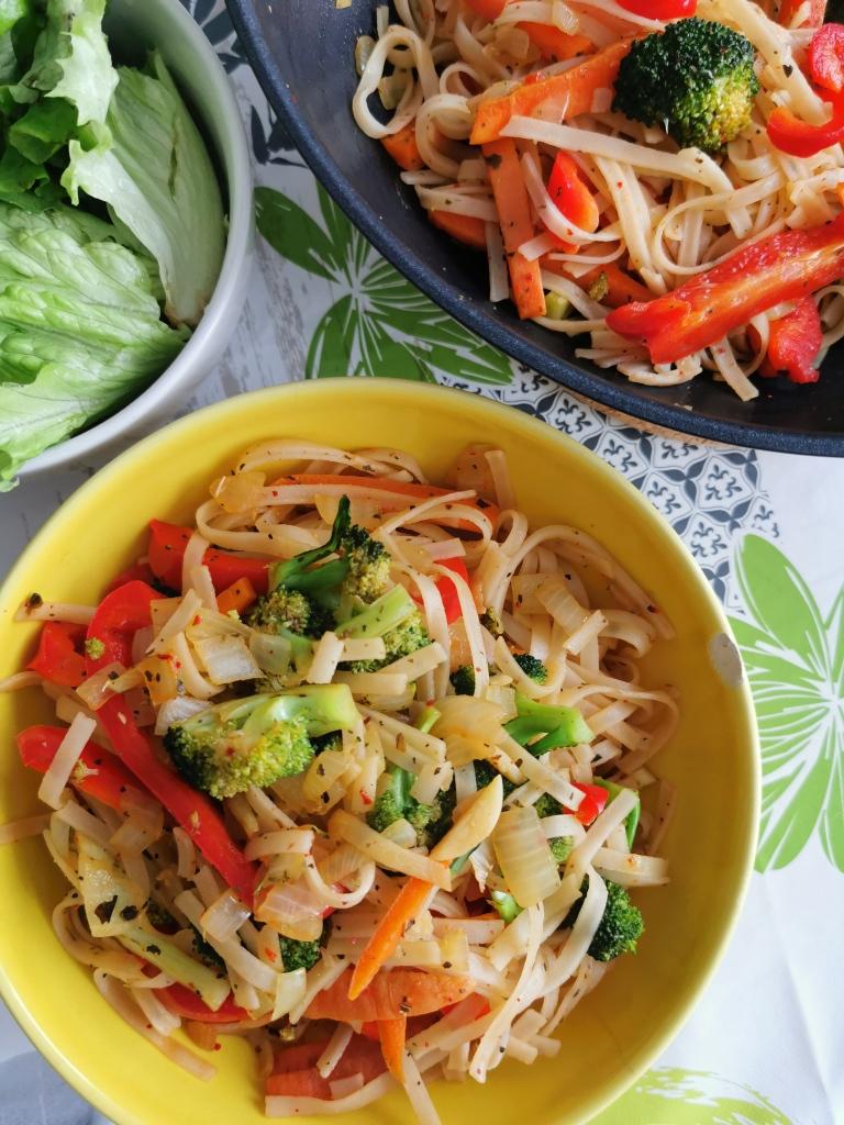 pad thai vegan et sans gluten médical médium compatible