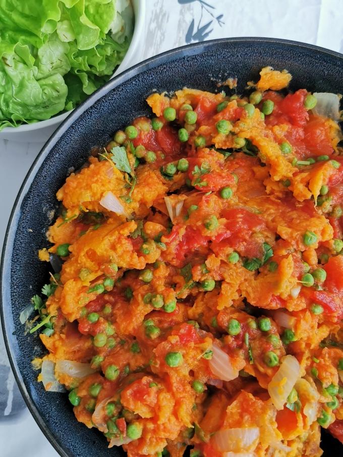 purée de patate douce à tomate vegan sans gluten médical médium compatible